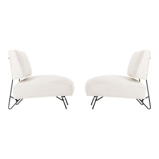 Pair of Ray Martin Lounge Chairs