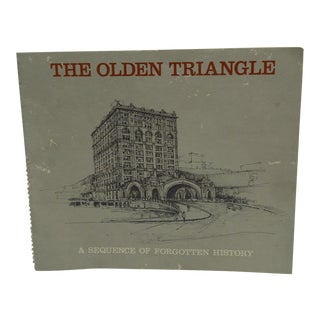 """1977 Vintage """"The Olden Triangle"""" Book"""