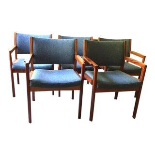 Christian Hvidt Danish 420 Chairs for Soborg - 5