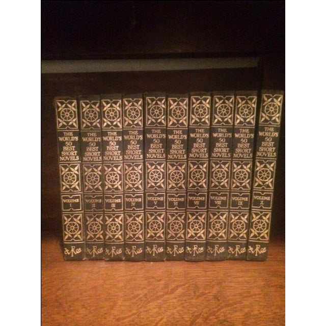 Image of Vintage Decorative Books - Set of 10