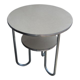 Vintage Art Deco Tiered Side Table