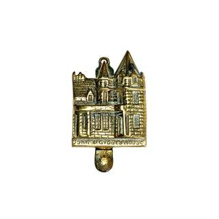 Scottish John O' Groats Brass Door Knocker