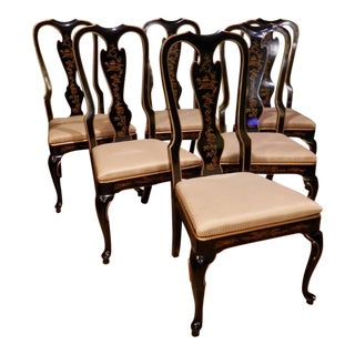 Vintage Used Black Dining Chairs Chairish