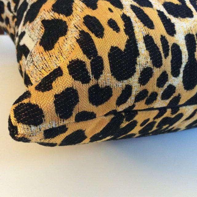 Transocean Dog Rug: Outdoor Leopard Pillows - A Pair