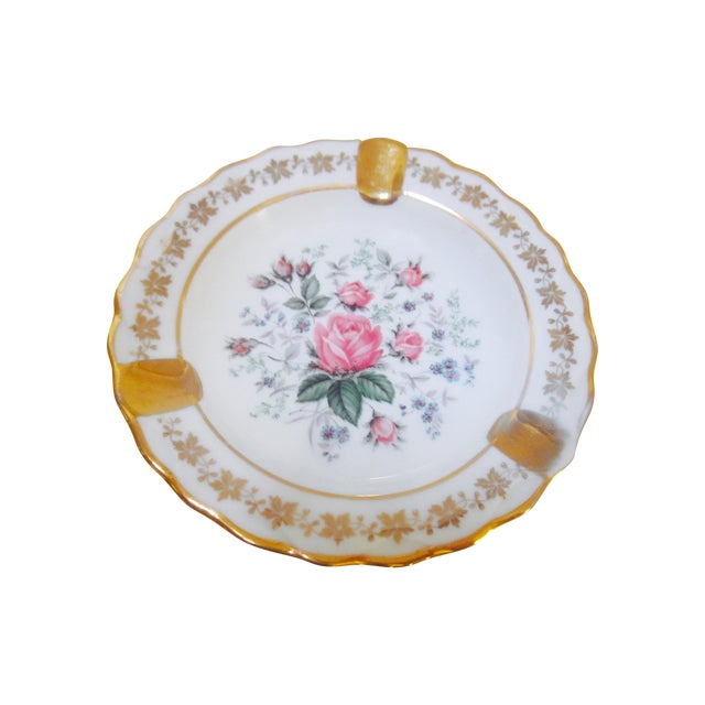 Pastaud Limoges Vintage French Trinket Dish - Image 1 of 6