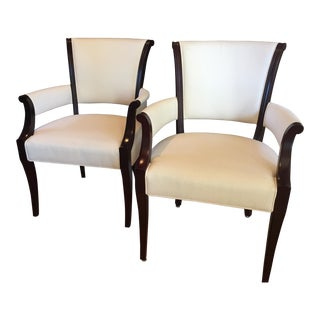 "Baker ""Barbara Barry Collection"" Ascot Dining Chairs - A Pair"