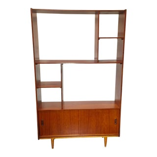 Danish Modern Walnut Bookcase