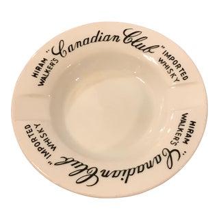 Canadian Club Whiskey Commemorative Ashtray