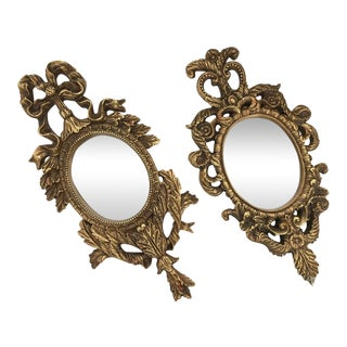 French Baroque Gilt Mirrors - A Pair
