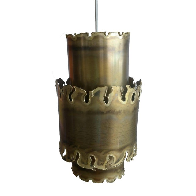 Svend Aage Brutalist Pendant Light - Image 1 of 4