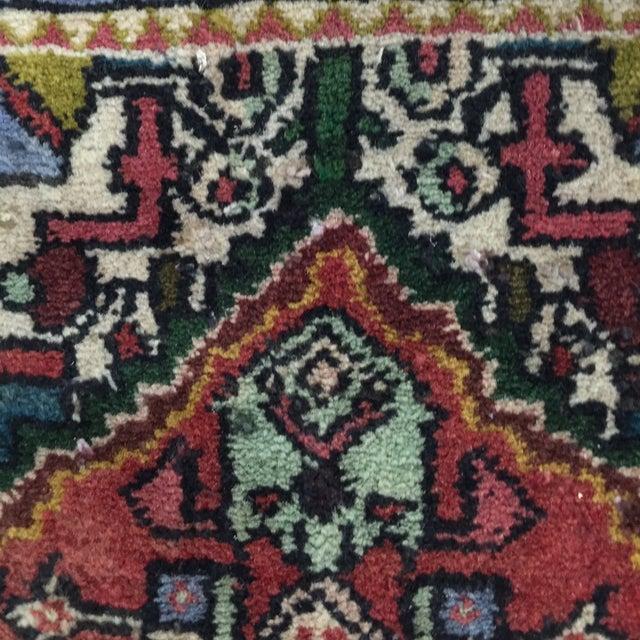 "Vintage Hamadan Persian Rug - 1'5"" x 2'11"" - Image 5 of 8"