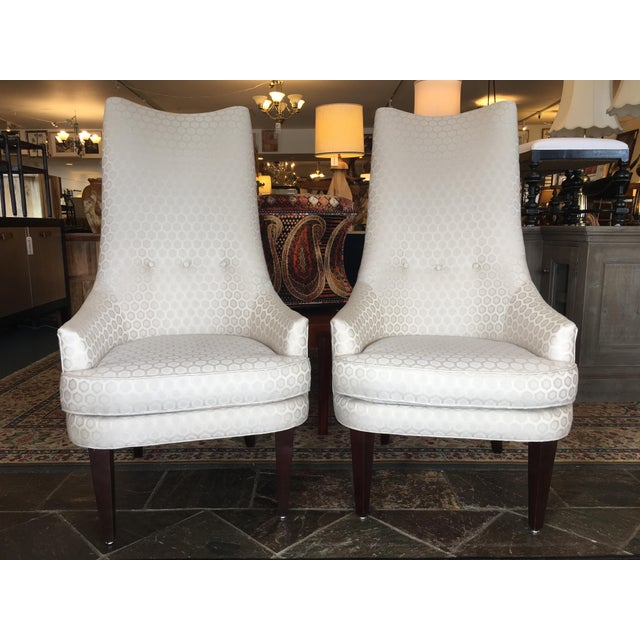 Jonathan Adler Prescott Chairs - A Pair - Image 2 of 11