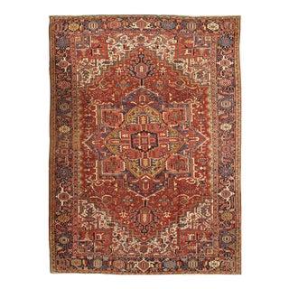 "Pasargad N Y Antique Persian Heriz Rug - 8′6"" × 11′6″"