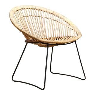 Rattan Hoop Chair