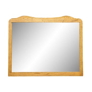 Light Wood Dresser Mirror