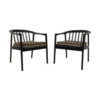Dux Folke Ohlson Danish Modern Chairs - A Pair