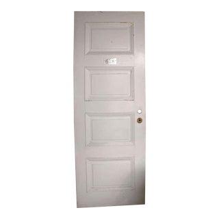 Hardwood Four Horizontal Raised Panel Door