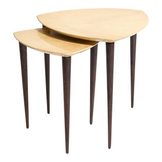 Aldo Tura Nesting Tables