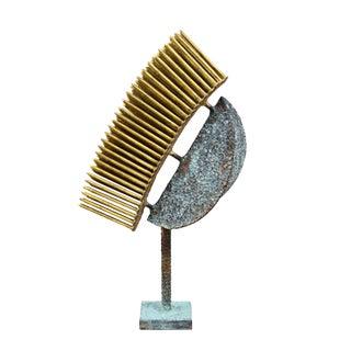 Golden Rays Sculpture by Douglas Ihlenfeld