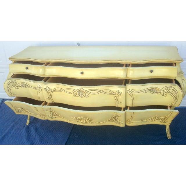 Genova Furniture Co. French Provincial Dresser - Image 8 of 10