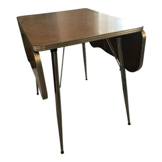 Chrome Trim Formica Table