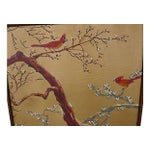 Image of Cardinals Asian Oil Painting