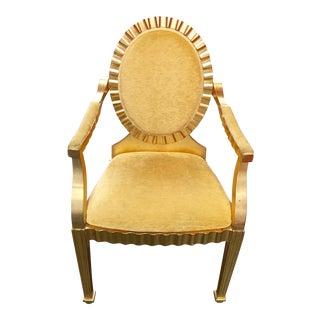Gold Leaf Chair