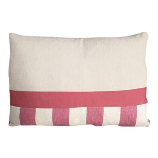 Kim Salmela Pink & Ivory Patchwork Pillow
