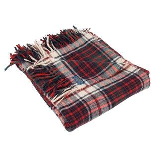 Vintage Pendleton Wool Picnic Throw