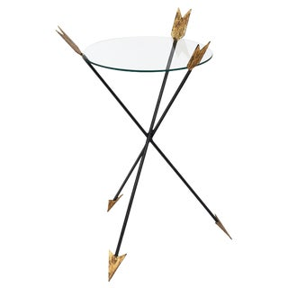 Empire Style Antique Arrow Side Table
