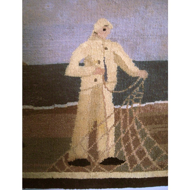 Grenfell Fisherman Hooked Mat - Image 2 of 6