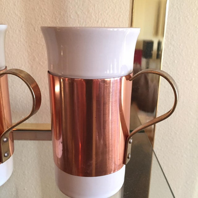 Copper Mugs - Set of 5 - Image 2 of 4