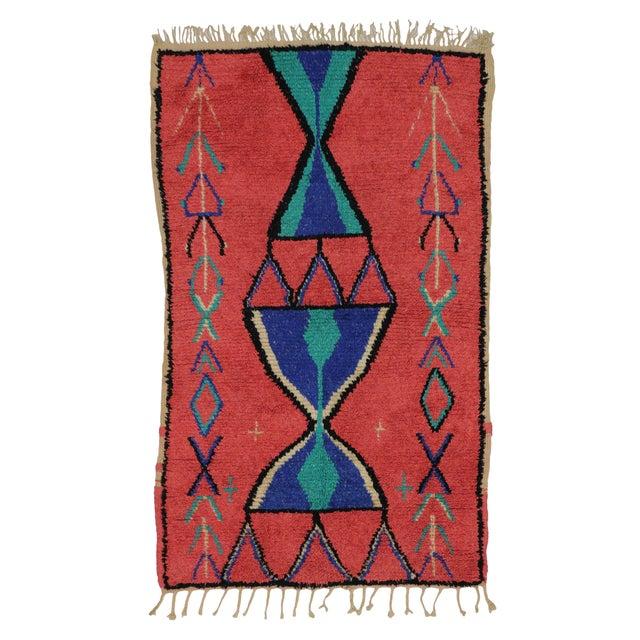 Vintage Berber Moroccan Rug - 3′9″ × 6′ - Image 5 of 6