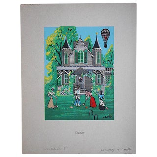 Vintage Silkscreen Print