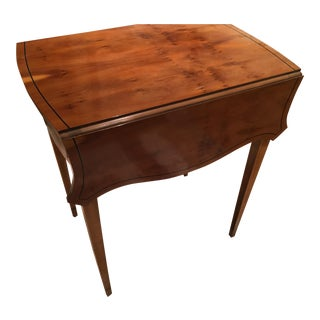 Baker Drop Leaf Side Table