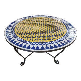 Moroccan Mosaic Dining Table