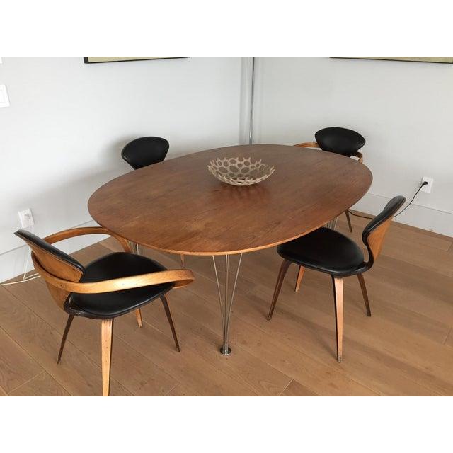 Piet Hein Bruno Mathsson Ellipse Dining Table - Image 3 of 8