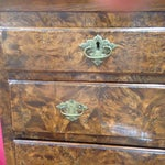 Image of 18th Century American Burl Chest on Stand