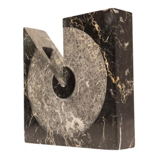 Sergio Asti Square Marble Vessel for Atelier International