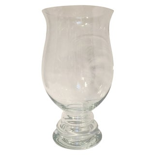Contemporary Large Glass Vase