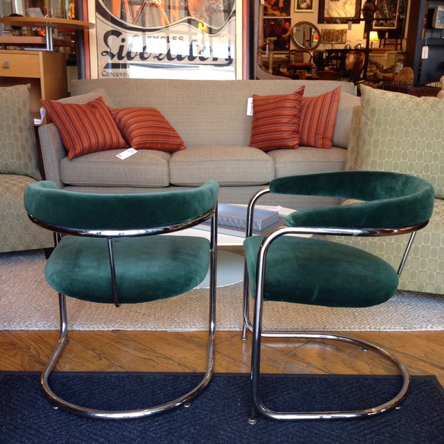 Vintage Anton Lorenz Thonet Chairs - Pair - Image 5 of 6