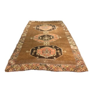 "Bellwether Rugs Vintage Turkish Oushak Rug - 6'5"" X 10'9"""