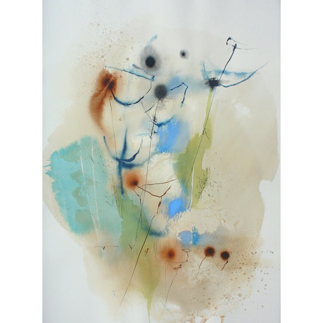 Impromptu, W-2017-2-4 watercolor on paper by Ana Zanic - Image 1 of 2