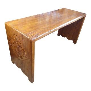 Solid Teak Asian Altar Table
