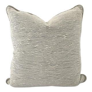 Black & Cream Woven Design Pillow