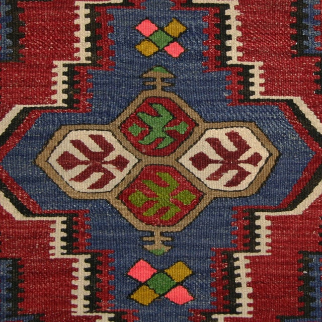 """Vintage Turkish Kilim - 2'11"""" X 3'11"""" - Image 3 of 3"""