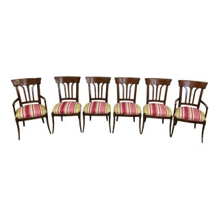 Brunschwing & Fils Upholstered Dining Chairs - Set of 6