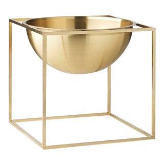Kubus Large Brass Bowl