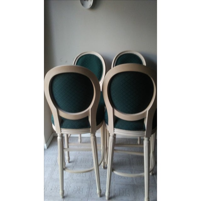 Image of French Louis XVI Style Bar Stools - 4