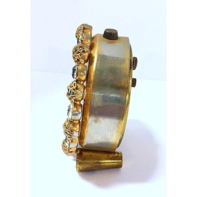 1930s Vintage Phinney-Walker Bejeweled Alarm Clock - Image 4 of 8
